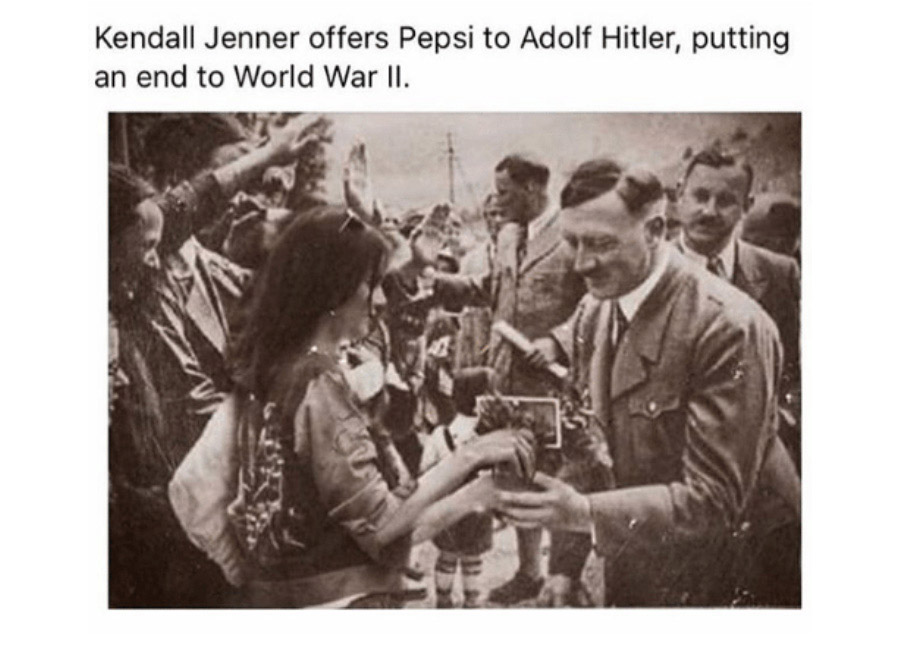 Lessons in PR & Marketing – Kendall Jenner Pepsi advert