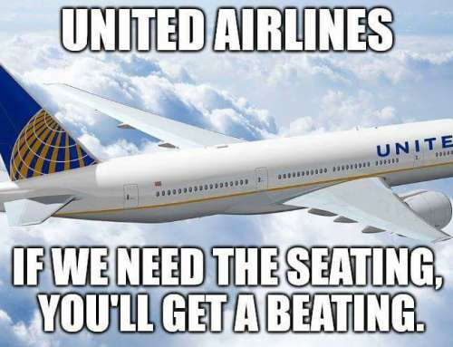 Lessons in PR Disasters, United Airlines