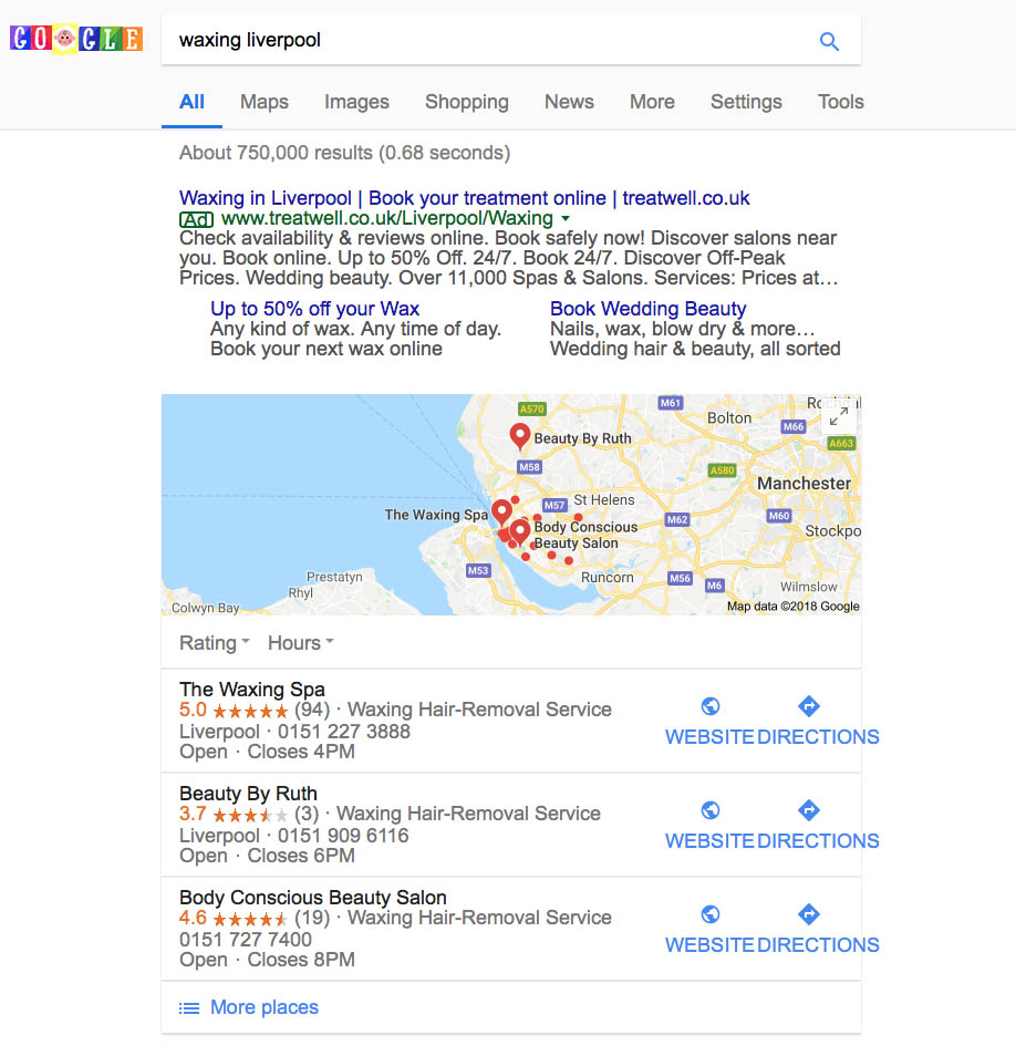 Local SEO Liverpool